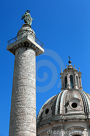 Marcus Aurelius Column Royalty Free Stock Photography - Image: 14316087