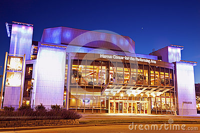 Marcus Center Editorial Stock Image