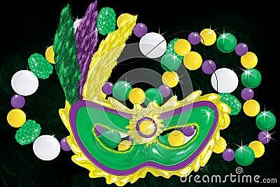 Mardi Gras Collage