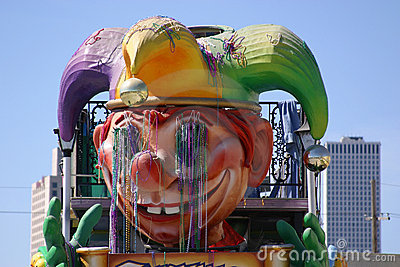 Mardi Gras Float Closeup