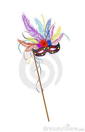 Mardi Grass mask