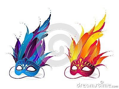 Mardi Grass masks