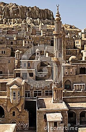 Free Mardin Stone Homes Royalty Free Stock Image - 8285966