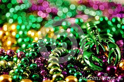 Mardis Gras Beads