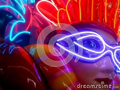 Mardis Gras Neon