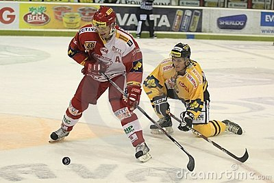 Marek Tomica - czech hockey extraleague Editorial Photography