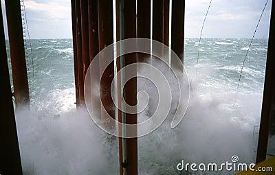 Mares agitados