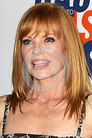 Marg Helgenberger arrives at the 19th Annual Race to Erase MS gala Editorial Stock Photo