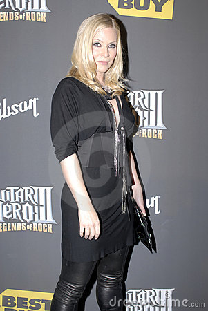 Marg Helgenberger on the red carpet Editorial Stock Photo