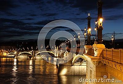 Margaret Bridge in Budapest