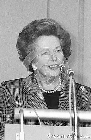 Margaret Thatcher Editorial Stock Image