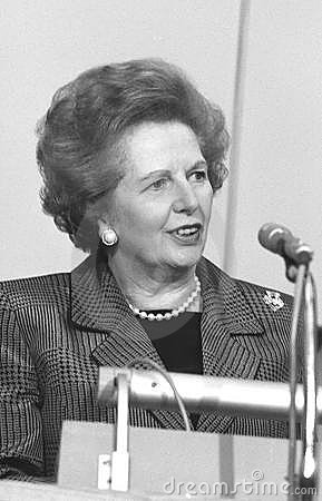 Margaret Thatcher Editorial Image