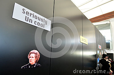 Margaret Thatcher Editorial Stock Image