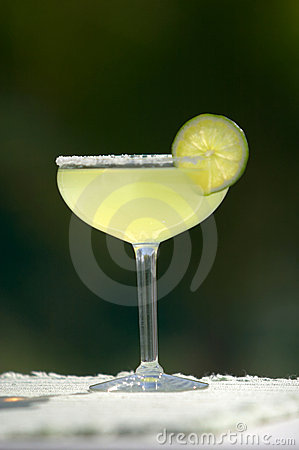 Margarita with Lime and Salt