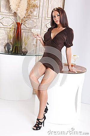 Margarita at the lounge