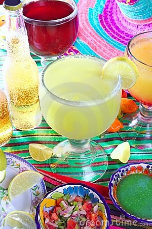 Free Margarita Sex On The Beach Cocktail Beer Tequila Stock Photography - 19161252
