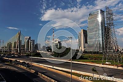 Marginal Pinheiros Sao Paulo Brazil