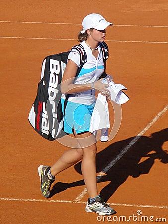 Maria Joao Koehler Estoril Open Editorial Photo