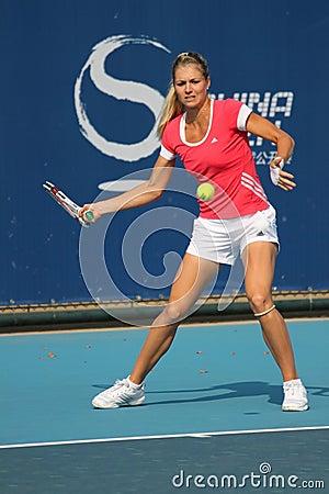 Maria Kirilenko (RUS), professional tennis player Editorial Image