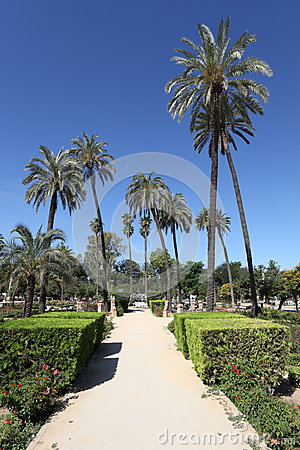 Maria Luisa Park in Seville, Spain