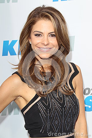 Maria Menounos arrives at the  Editorial Image