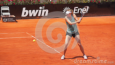Maria Sharapova Editorial Stock Photo