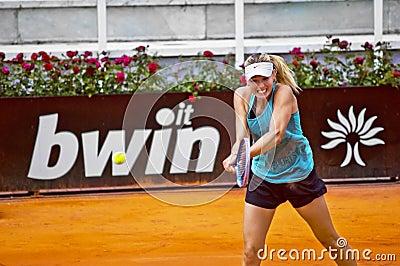 Maria Sharapova - Internazionali BNL d Italia Editorial Stock Image