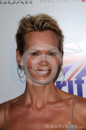 Maria Tornberg lors du lancement officiel de BritWeek, emplacement privé, Los Angeles, CA 04-24-12 Image stock éditorial
