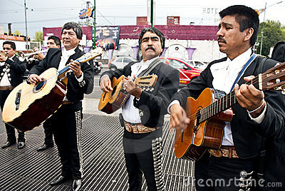Mariachi band Editorial Photography