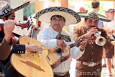 Mariachi band in Mexico Editorial Stock Image