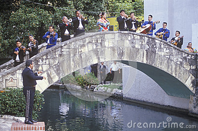 Mariachi band performs for the Clinton/Gore Editorial Photography