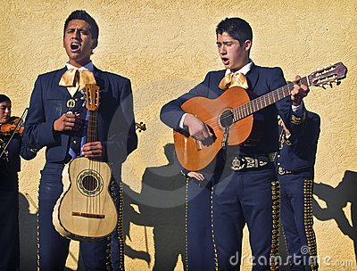 Mariachi Street Musicians, California Editorial Photo