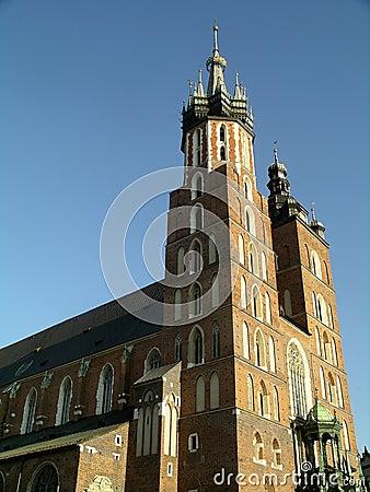 Mariacki Church in Cracow