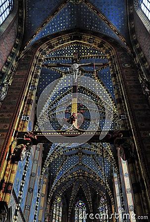 Free Mariacki Church In Krakow Royalty Free Stock Image - 40968476