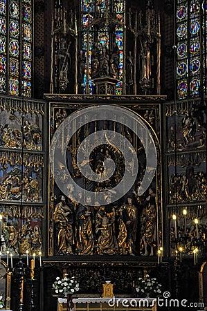 Free Mariacki Church In Krakow Royalty Free Stock Photos - 40968648