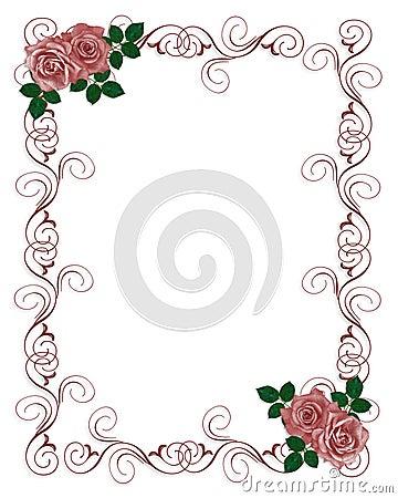 Freedownload pink rose wedding design templates Index of /