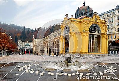 Marienbad colonnade