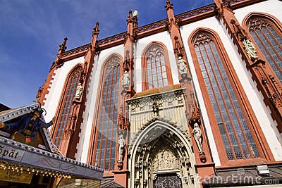Marienkapelle (chapel) in Wuerzburg, Bavaria