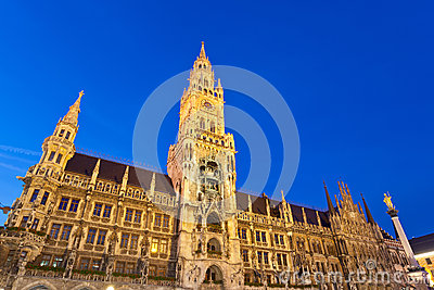 Marienplatz em Munich