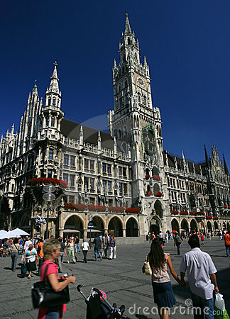 Free Marienplatz In Munich Stock Images - 1972004