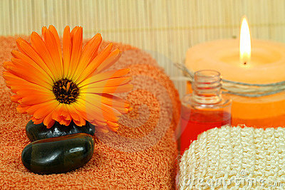 Marigold for beauty therapy