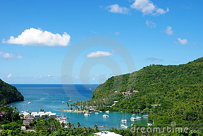 Marigot Bay -  St Lucia