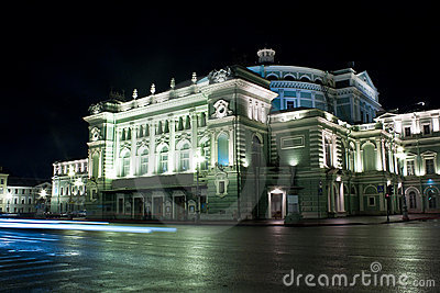 Mariinsky Theater in Saint Petersburg