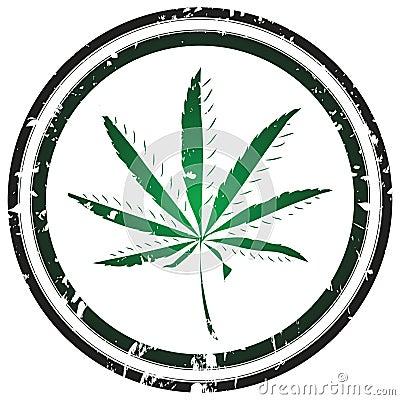 Marijuana stamp