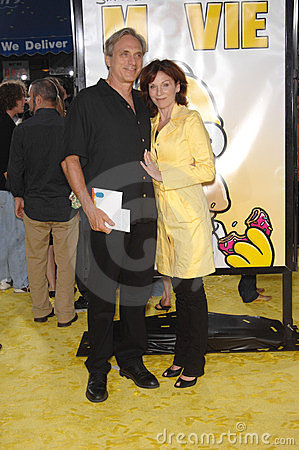 Marilu Henner, Michael Brown, The Simpsons Editorial Image