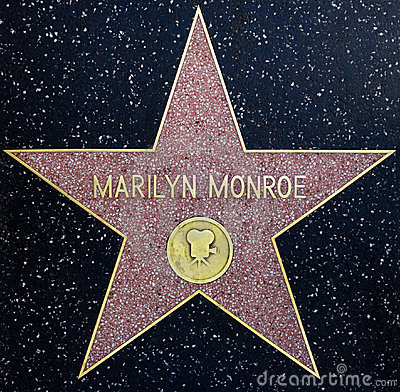 Marilyn Monroe Star Editorial Image