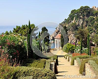 Marimurtra garden in Blanes,Spain