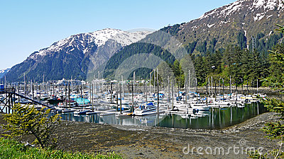 Marina in Alaska