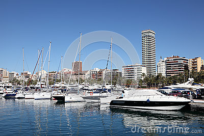 Marina of Alicante, Spain Editorial Image