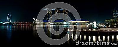 Marina Bay Attraction Editorial Photo